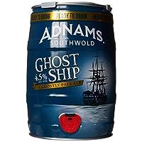 tenty.co.uk Adnams Ghost Ship Pale Ale Mini Keg, 5 L