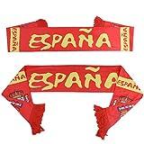 Bufanda de fútbol de la Copa Mundial de Rusia 2018, diseño de bandera de España
