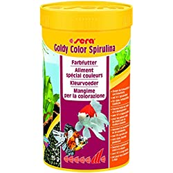 SERA Mangime per pesci goldy color spirulina gr. 95 - Alimenti pesci