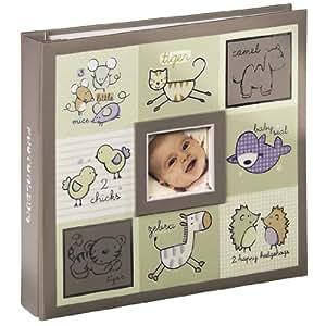 Hama 00106247 Album photo mémo Aaron, reliure à vis, 11 x 15 cm, 100 pages