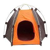 Deaman Naledi Tente Portable Pliable Ultra Violette imperméable et Durable pour Chien Chat Lit Maison imperméable pour été intérieur extérieur Voyage Camping