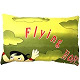 Fusine™ Top Quality Premium Pillow - Organic Cotton - Soft, Comfy, Colorful, Naturally Hypoallergenic - Cartoon Kids For Boys And Girls 30x45cm (Chhota Bheem)