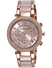 Michael Kors Analog Rose Dial Women's Watch - MK5896I