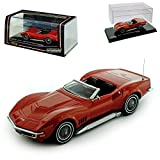 Vitesse Chevy Chevrolet Corvette C3 Coupe Stingray Bronze Orange 1/43 Modell Auto