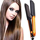 Best Travel Flat Irons - SJ Women Temperature Control Professional Travel Hair Straighteners Review