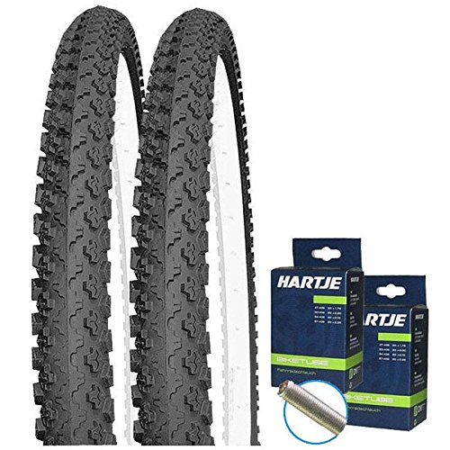 "SET: 2 x Kenda K810 MTB Fahrrad Reifen 50-559 / 26x1.90 + SCHLÄUCHE / 26\"" Zoll Mantel"