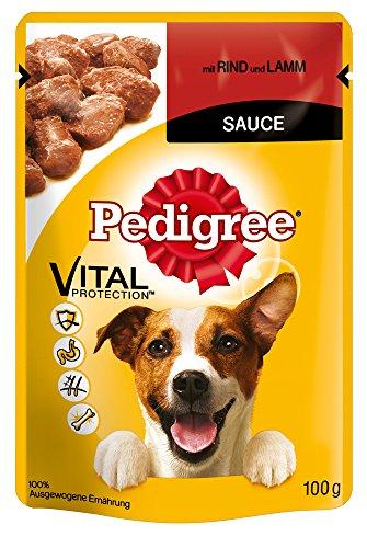 Pedigree Hundefutter Rind und Lamm, 24 Beutel (24 x 100 g) - 2