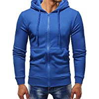 ITISME TOPS Herren Herbst Winter Langarm Casual Hoodie Pullover Sweatshirt Outwear Tops Winter Warm halten