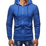 MOIKA Sales Herren Kapuzenpullover Hoodie Pullover Mit Kapuze Herren Herbst Winter Langarm Casual Hoodie Sweatshirt Outwear Tops