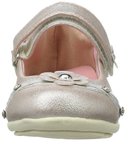 Lico Mona V, Ballerines fille Pink (ROSA/SILBER)