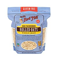 Bob's Red Mill  Rolled Regular Gluten Free Oats, 907 gm Beige (1982S32)