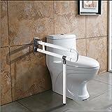 KHSKX Klappbare Dusche barrierefrei Handlauf Handlauf für die behindertengerechte Toiletten wc in der Altenpflege auf klappbare Armlehne