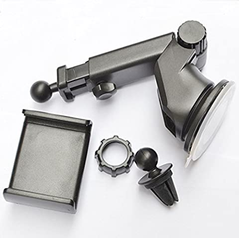 AMYMGLL Automobile climatisation Universal single sucker pull navigation bouche de téléphone support , 3