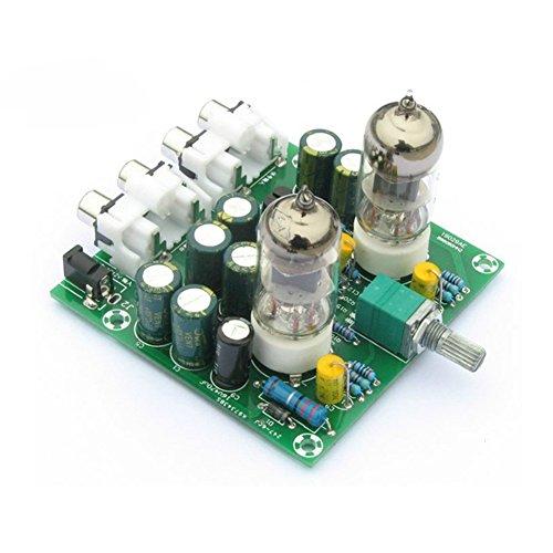 ShanTan AC 12V 6J1 Ventil Vorverstärker Tube PreAmplifier Board Kopfhörer Verstärker Puffer DIY Kit (Ventil-kopfhörer-verstärker)