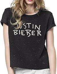 JUSTIN BIEBER - Speckled Logo - GIRLIE - Shirt