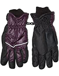 Outburst - Thermo gants filles et les garçons, prune