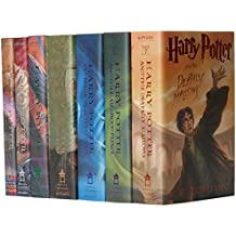 Harry Potter Hard Cover Boxed Set: Books #1-7 [With Stickers]