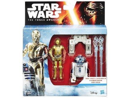 Coffret de 2 figurines star wars rebels : r2 d2 et c-3po 9 cm - mission dans l'espace