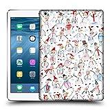 Head Case Designs Offizielle Ninola Vichy Schneemann Muster 2 Ruckseite Hülle für iPad Air (2013)