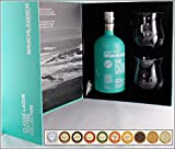Geschenk Bruichladdich The Classic Laddie Whisky mit 10 DreiMeister/DaJa Edel Schokoladen & 2 Gläser im Original Geschenk Karton kostenloser Versand