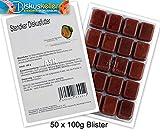 Stendker Frostfutter Sparpaket 50 x GoodHeart Diskusfutter/Rinderherz 100g Blister