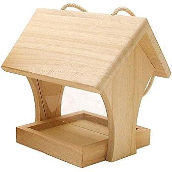dobar 26051e vogelhaus bausatz f r kinder aus holz zum aufh ngen 29 x 18 x 14 cm bunt amazon. Black Bedroom Furniture Sets. Home Design Ideas