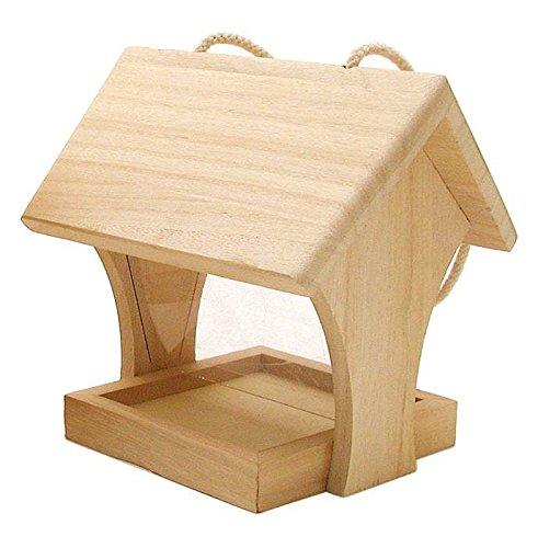 VBS Holz-Futterhaus Vogel-Häuschen