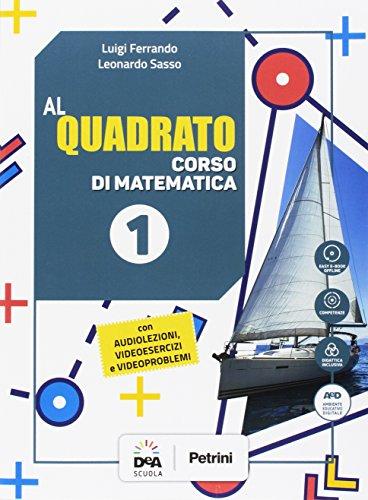 Al quadrato. Per la Scuola media. Con e-book. Con espansione online. Con 3 libri: Quaderno-Formulario-Tavole numeriche. Con DVD-ROM: 1