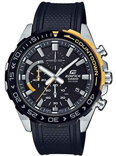 CASIO Orologio Cronografo Quarzo Uomo con Cinturino in Resina EFR-566PB-1AVUEF