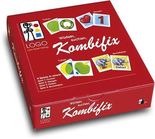Kombifix: Set mit 4 Spielen/Logo Lernsp.