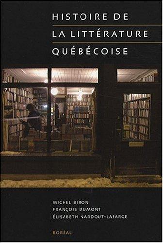 Histoire de la littrature qubcoise