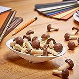 Kuchenmeister Koala Glückspilze, 1er Pack (1 x 100) Kekse mit Vollmilch-Schokolade in Pilz-Form
