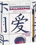 Chinesische Kalligraphie - Set mit Buch, Pinsel und Magic-Paper: Wörter zeichnen Schritt für Schritt - Nicola Piccioli, Paola Billi