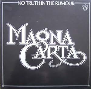 No Truth In The Rumour [Vinyl LP] [Schallplatte]