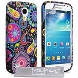 Schutzhülle Samsung Galaxy S4 Mini Mehrfarbig Qualle Silikon Hülle