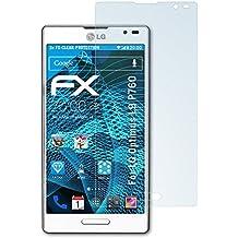 Atfolix FX-Clear - Protectores de pantalla para LG Optimus L9 P760 (3 unidades)