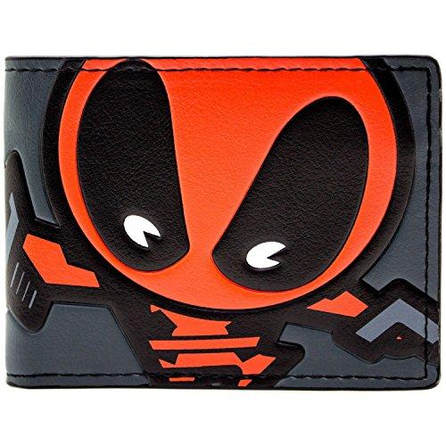 Marvel Deadpool Karikatur Mehrfarbig Portemonnaie Geldbörse (Kostüm Neue Deadpool)