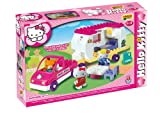 ANDRONI Unico Plus Hello Kitty Auto con Roulotte 47pz 8679