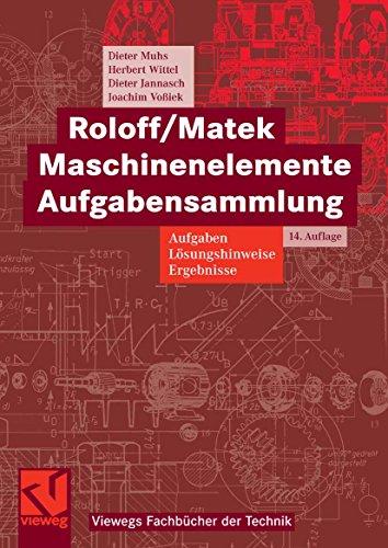 Roloff/Matek Maschinenelemente Aufgabensammlung: Aufgaben, Lösungshinweise, Ergebnisse (Viewegs Fachbücher der Technik) - Y-achsen-riemen