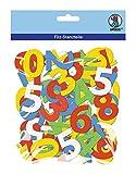 Ursus 20310099 - Bastelfilz Zahlen 120 Stück, bunt sortiert