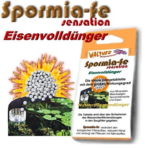 Spormia-fe 50 Düngetabletten Eisenvolldünger für Aquarien über den OFA in den Filter