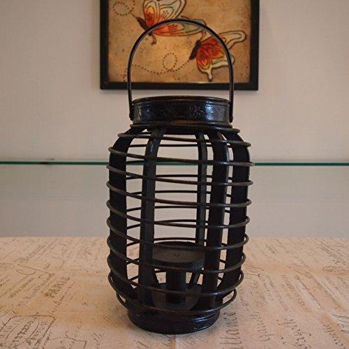 vorgestellten Laterne Ornamente personalisierte Balkon Hurrikan-Lampe Europäische romantisches Abendessen bei Kerzenlicht Kerze Ornamente (Hurrikan-lampen Für Kerzen)
