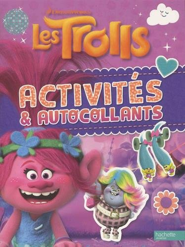 Les Trolls - Activités et autocollants
