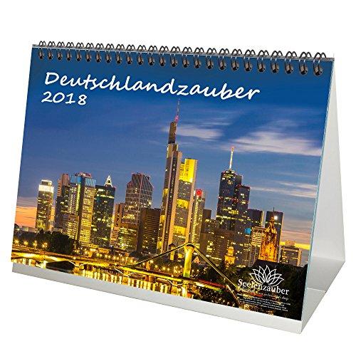 Sommer-nacht-licht (Deutschlandzauber 2 · Premium Tischkalender / Kalender 2018 · DIN A5 · Deutschland · Nachtaufnahmen · Stadt · Sehenswürdigkeiten · Edition Seelenzauber (MIT Grusskarten))