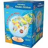 WAS IST WAS Junior Columbus Kinder-Globus: Leuchtglobus, Durchmesser 26 cm, Extra: mit Weltatlas (WAS IST WAS Junior Edition)