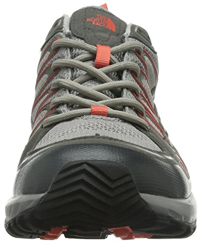 Chaussures randonnée Litewave Face Gris North Qsilver Radiant femme Grey de Gtx W Orange The Explore gris Yq1n4x8