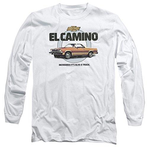 Chevrolet Herren Langarmshirt Weiß