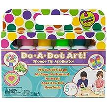 Do-A-Dot Art! Sponge Tip Applicators 2.5oz 6/Pkg-Brilliant