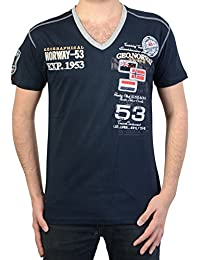 T-Shirt Geographical Norway Jeep SS Men 100 Navy