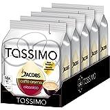 Tassimo Jacobs Caffe Crema Classico, T Discs, 16 Portionen, 112g, 5er Pack (5 x 112 g)